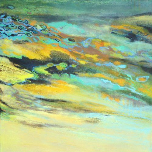 Landschaft / Paysage | 50 x 50 | Acryl auf Leinwand / Acrylique sur toile