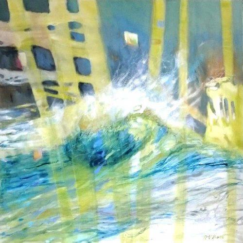 O.T. / Sans titre | 100 x 100 | Acryl auf Leinwand / Acrylique sur toile