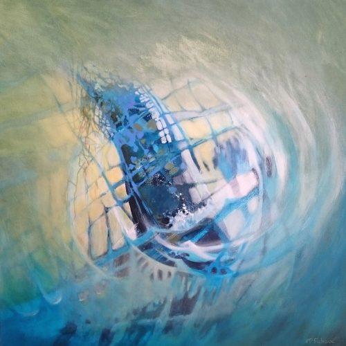 O.T. / Sans titre | 60 x 60 | Acryl auf Leinwand / Acrylique sur toile